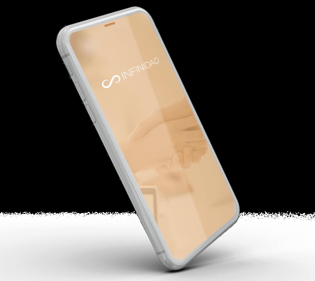 iphone con logo